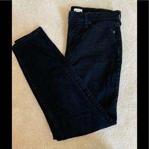 J.Crew skinny jean in Black denim, size 31